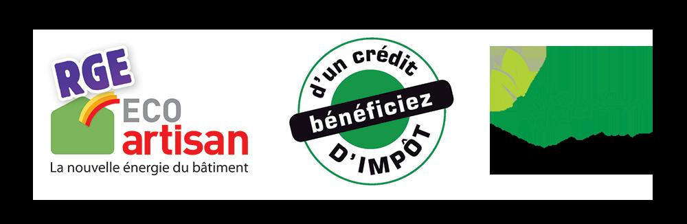 Bandeau logos - ISOLATION THERMIQUE EXTÉRIEURE